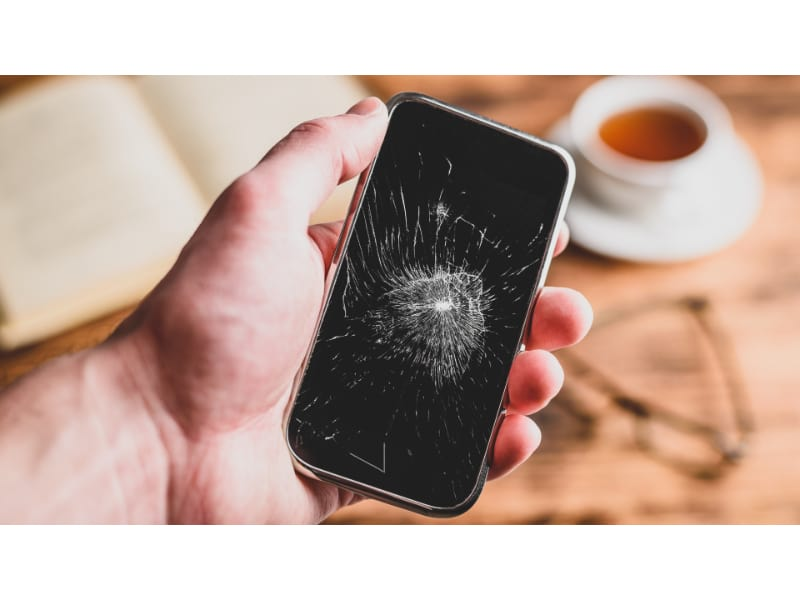 Cracked Screen Cell Phone Prank