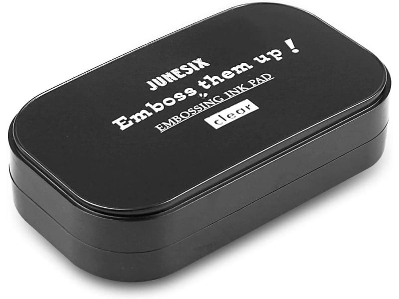 A Fstair Large Clear Embossing Ink Pad in clear ink
