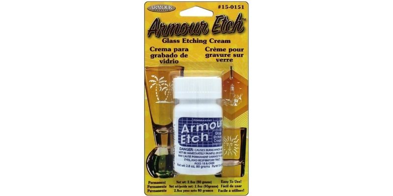 Armour Etch 15-0151 Glass Etching Cream