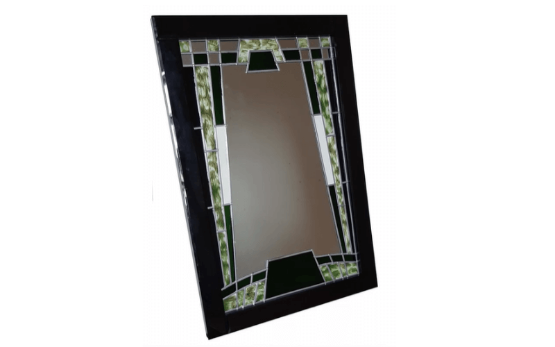 DecoArt mirror glass painting - Image by Glass Painting
