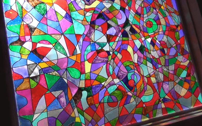 Faux stained glass - Image by 2Sisters1Heart