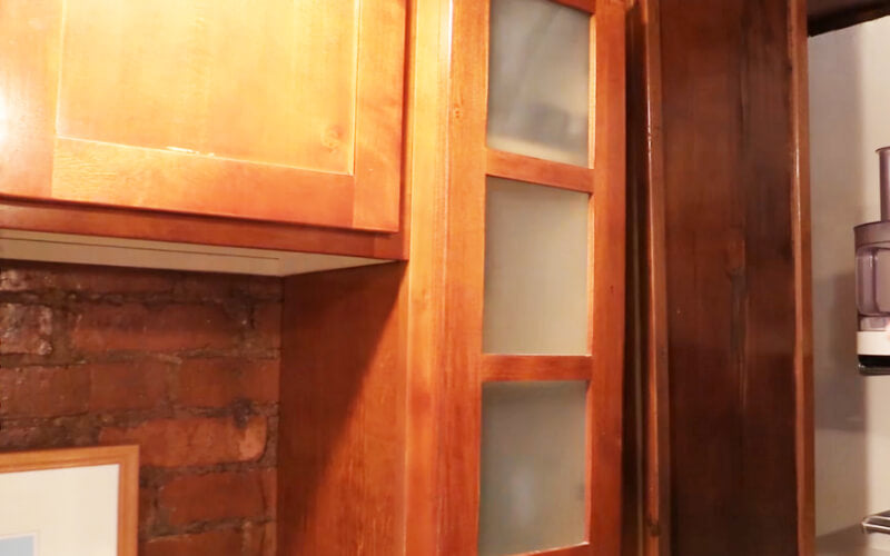 Frosted cabinet door - Image by GardenFork