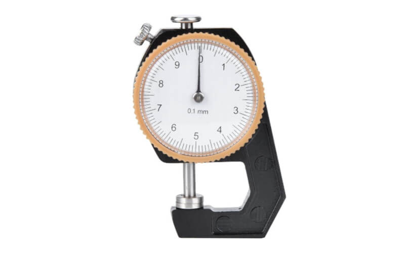 a leather thickness gauge accurate to 0.1mm