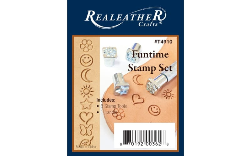 a pack of fun stamp tools and a rod handle