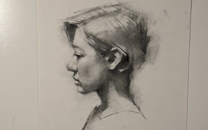 A portrait of a woman in profile - Image by Jeff Haines