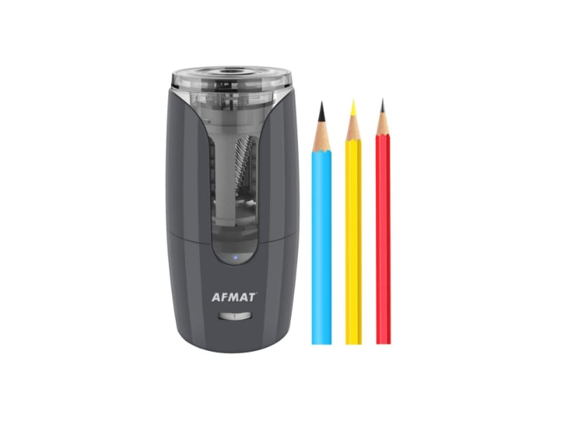 AFMAT Rechargeable Charcoal Pencil Sharpener