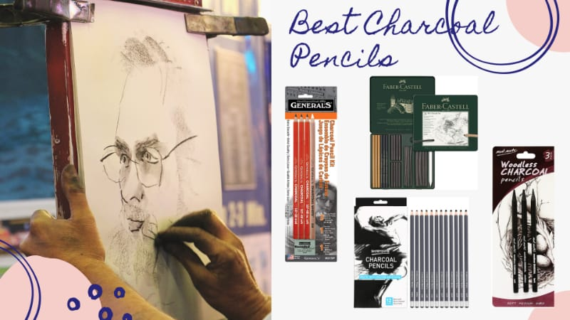 4/12 of the best charcoal pencils for charcoal drawing