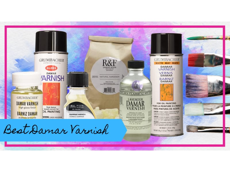 various kinds of Damar varnish to protect and restore your oil paintings