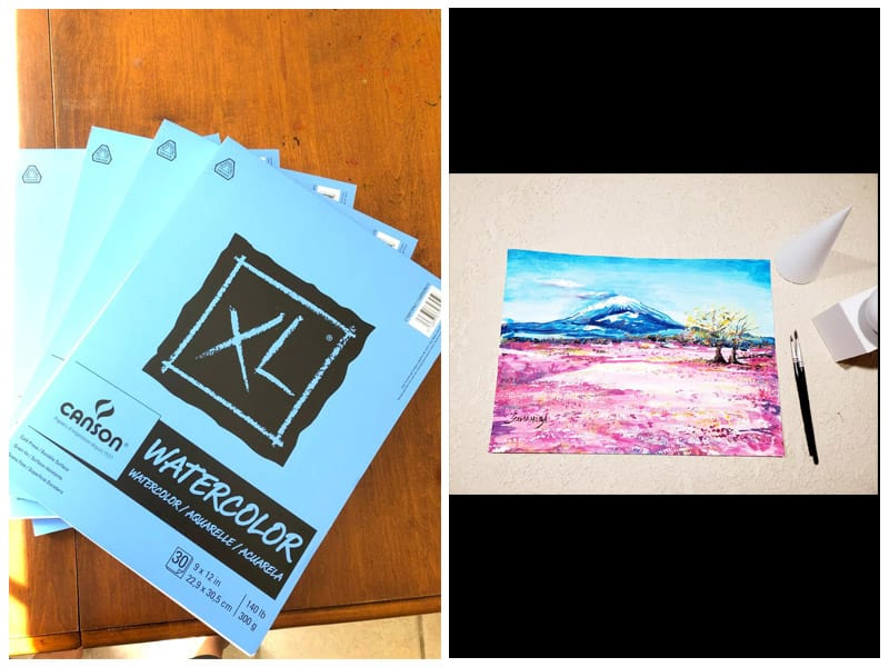 Canson XL Series Water Color Paper for Charcoal Drawing review
