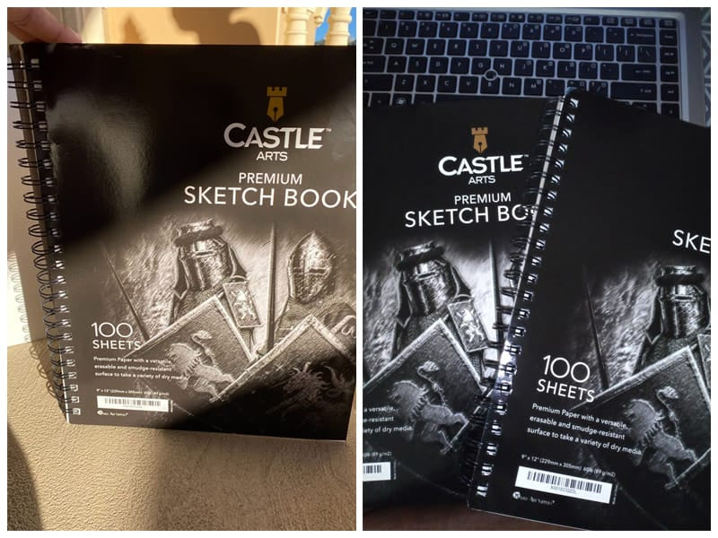 Castle Art Supplies Premium Paper for Charcoal Drawing review