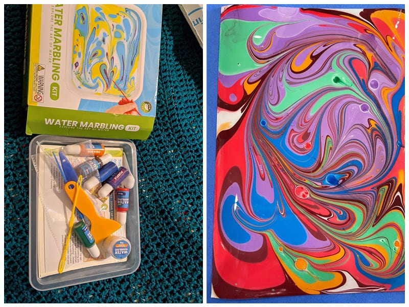 Catcrafter Spin Art Paper Marbling Kit review