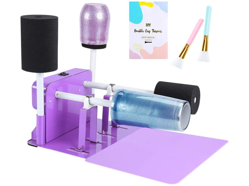 Double Cup Turner Machine for DIY Tumblers