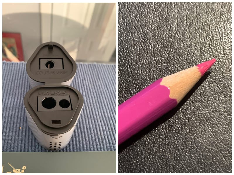 Faber-Castell Grip Trio Charcoal Pencil Sharpener  review