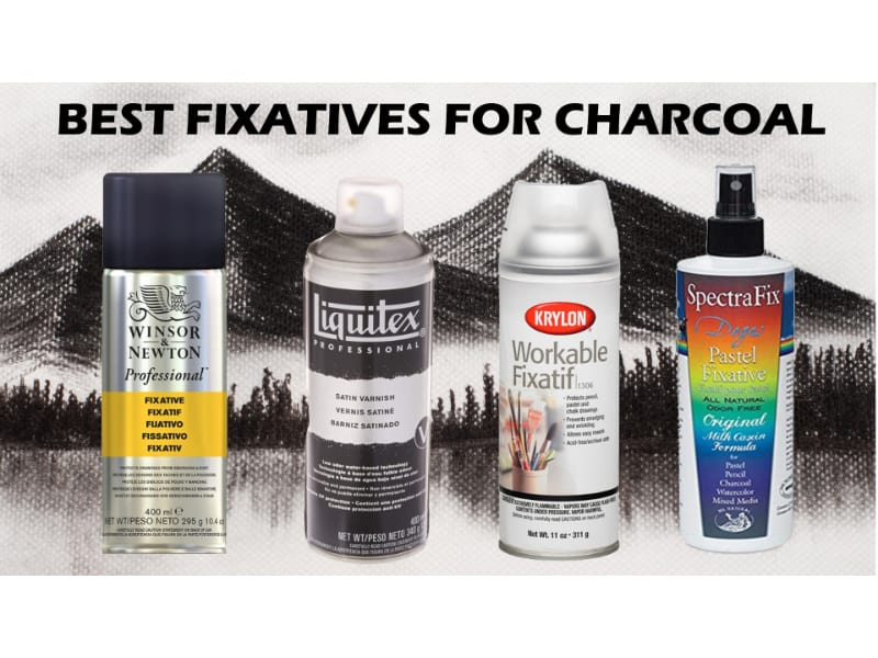 fixatives for charcoal