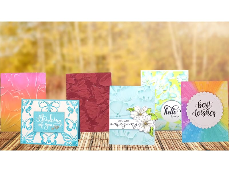 22 Creative Techniques On How To Use Embossing Folders
