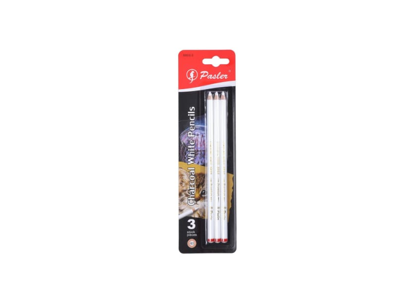 Pasler's Sketch White Charcoal Pencils