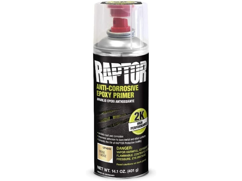 RAPTOR Beige Anti-Corrosive Epoxy Primer for high-level protection against corrosion
