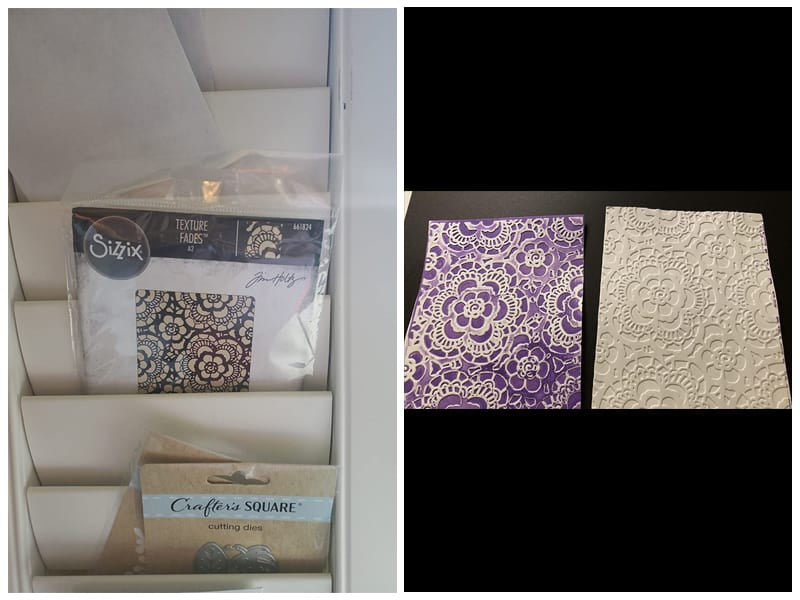 Sizzix Lace Embossing Folder review