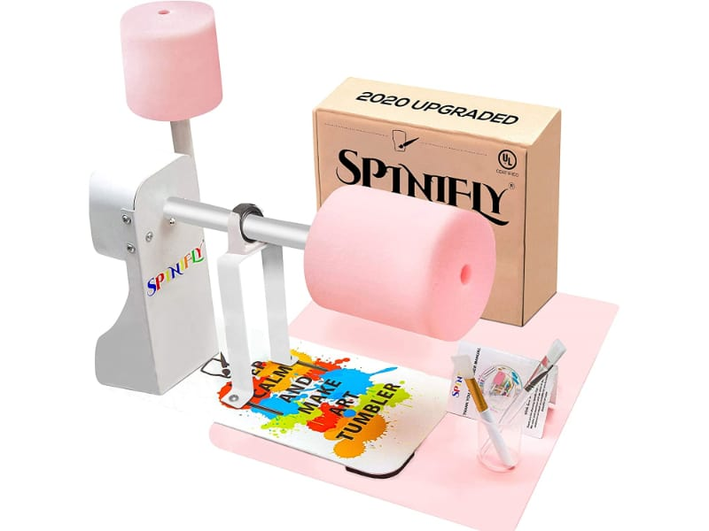 SPINIFLY Store Cup Turner for Crafts Tumbler Full Kit