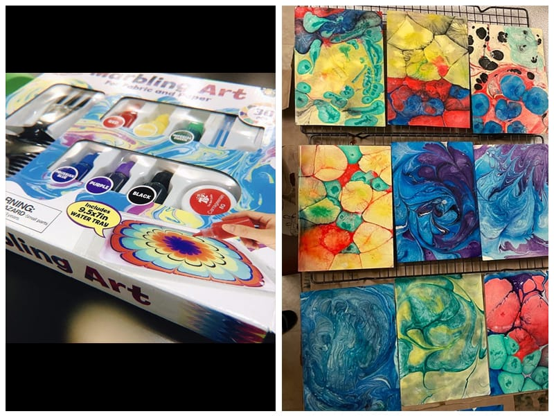 TBC The Best Crafts Paper Marbling Kit review
