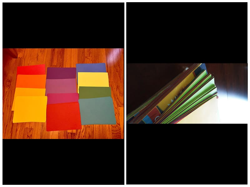Tru-Ray Color Wheel Construction Paper review