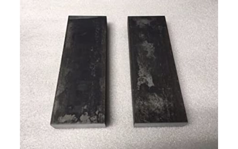 two pieces of steel you can use as press plates