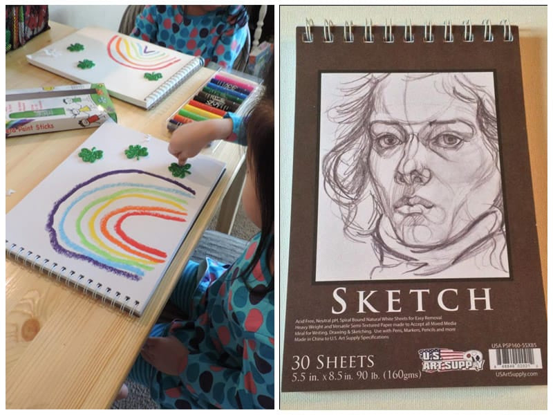 U.S. Art Supply Charcoal Drawing Sketch Book review