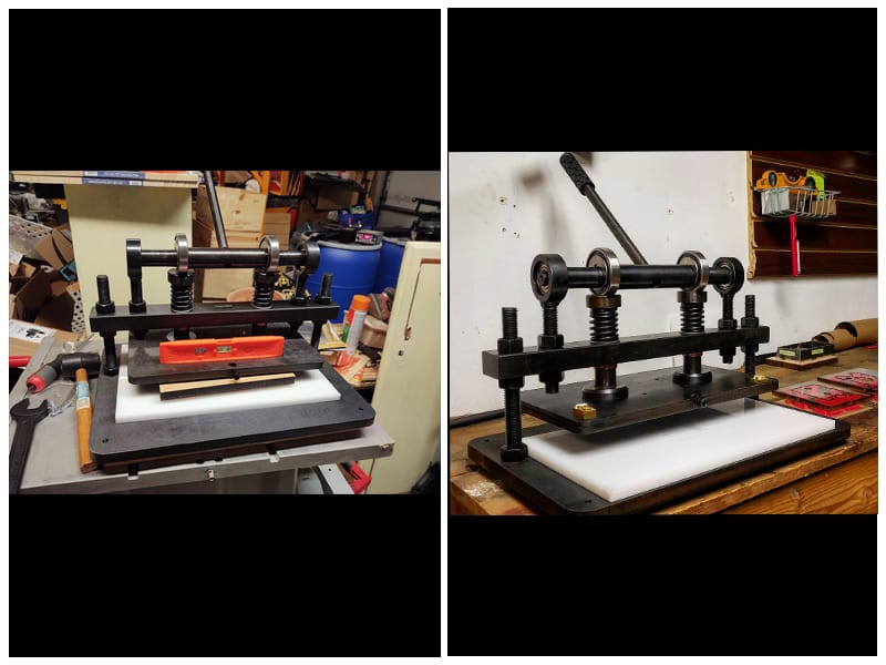 Vevor Large-Format Leather Emboss Machine review