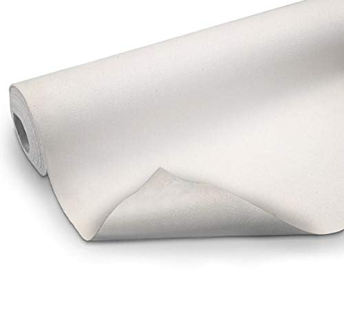 VViViD Double Primed Cotton Canvas 36 Inch Wide Roll Choose Your Size! (5 Foot x 36 Inch)