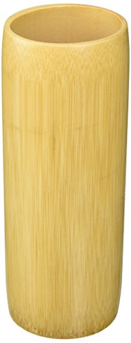 Yasutomo BT14-20 Bamboo Brush Vase, Medium, 8
