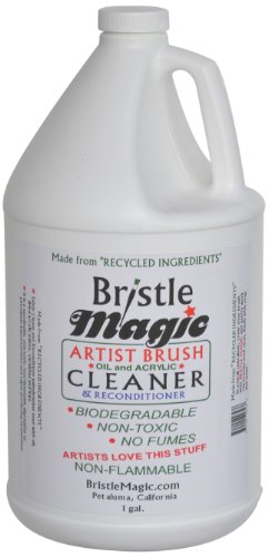 Bristle Magic Paint Brush Cleaner Bottle, 1-Gallon