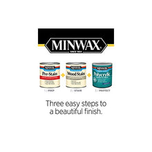 Load image into Gallery viewer, Minwax 255554444 Minwaxc Polycrylic Water Based Protective Finishes, 1/2 Pint, Gloss