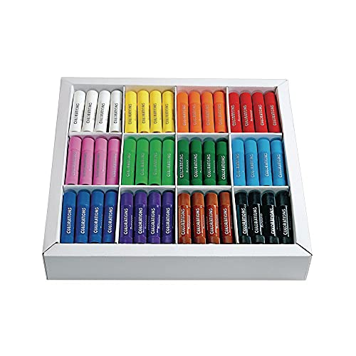 Colorations Tempera Paint Sticks for Kids, Set of 144 – Easy to Use, Fast-Drying Paint for Kids, Includes– Paint Markers for Classroom and Home Learning