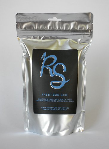Rabbit Skin Glue 16 oz Reselable Bag by Enkaustikos
