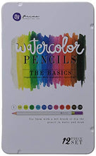 Load image into Gallery viewer, Prima Marketing WPSET-76714 The Basics Mixed Media Watercolor Pencils (12 Pack)