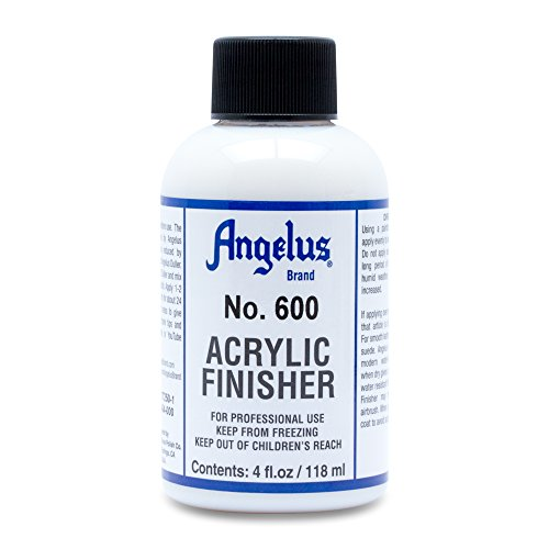 Angelus Brand Acrylic Leather Paint Finisher No. 600-4oz