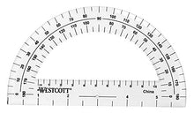 Load image into Gallery viewer, Westcott 14558-002 2 Piece Math Tools, Compass & Protractor Set (Assorted colors)