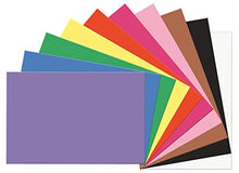 "Load image into Gallery viewer, SunWorks Construction Paper, 10 Assorted Colors, 12"" x 18"", 100 Sheets"