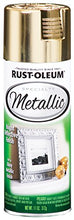 Load image into Gallery viewer, Rust-Oleum 1910830-6 PK Specialty Metallic 1910830 Spray Paint 11 oz, Gold, 6-Pack, 6 Pack, 66 Fl Oz