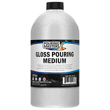 Load image into Gallery viewer, U.S. Art Supply Gloss Pouring Effects Medium - 32-Ounce/Quart