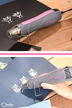 Load image into Gallery viewer, Heat Gun Chandler Tool Dual Temp Hot Air Gun for Crafts, Epoxy Resin, Shrink Wrap, Vinyl, Embossing, Electronics, Phone Repair & DIY (Pink)