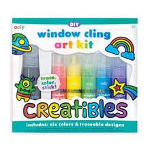 Load image into Gallery viewer, Creatibles DIY Window Cling Art Kit - 7 Piece Set