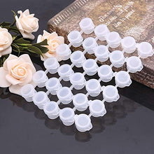 Load image into Gallery viewer, LAHONI 180 Pots Empty Palette Cups Strips Paint Cups with Lids Strip 5ml/0.17oz Mini Empty Plastic Paint Cups Jars Pigment Storage Containers(6Cups/ Strip,30 Strips) 5ml/0.17oz