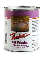 Load image into Gallery viewer, Fredrix Oil Priming - Titanium Dioxide quart can