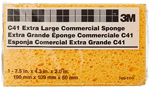 3M Extra Large Commercial Sponges C41 7456-T, 7-1/2