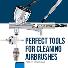 Load image into Gallery viewer, Master Airbrush Brand - Airbrush Cleaning KIT #1 Spray GUN & Airbrush Clean Set, Everything You Need to Keep You New Binks, Devilbiss, Sata, Iwata, Master, Badger, Paasche & Other Spray Equipment in Top Condition.
