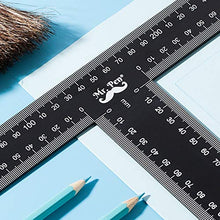 Load image into Gallery viewer, Mr. Pen - T Square, T Ruler, 12 inch Metal Ruler, T Square Ruler, Drafting Tools, Architect Ruler, Set Square, Drafting Ruler, Tsquare, Truler, Architectural Triangle, Tee Ruler, L Square, Scale Ruler