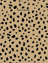 Load image into Gallery viewer, Notebook: Leopard Print Composition Notebook - College Ruled 110 Pages - Large 8.5 x 11