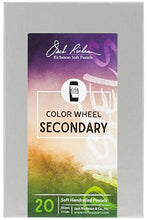 Load image into Gallery viewer, Jack Richeson 20 Piece Color Wheel Secondary Hand Rolled Soft Pastel Set