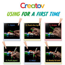 Load image into Gallery viewer, Liquid Chalkboard Window Chalk Markers -12 Pack Erasable Pens Great for Chalkboards & Glass - Non Toxic Safe & Easy to Use Washable Marker Neon Bright Vibrant Colors Pen for Kids and Adult